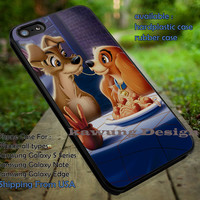 Lady and Tramp Disney iPhone 6s 6 6s+ 5c 5s Cases Samsung Galaxy s5 s6 Edge+ NOTE 5 4 3 #cartoon #animated #Lady&TheTramp dt