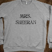 Mrs. Sheeran