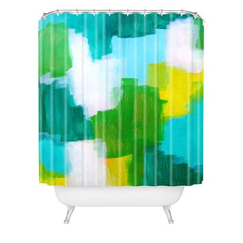 Natalie Baca Rainbows and Dreams Shower Curtain