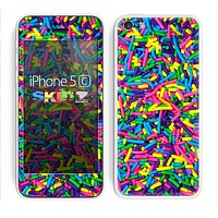 The Neon Sprinkles Skin for the Apple iPhone 5c