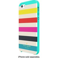 kate spade new york - Candy Stripe Hybrid Hard Shell Case for Apple® iPhone® 5 and 5s - Multi-color