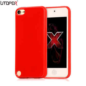 Candy Coque For ipod Touch 5 Case Fashion Colors Soft Plastic Silicon Case for Apple ipod Touch 6 Case Shockproof Phone Cover