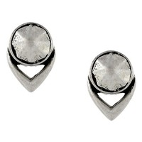 Women's Vince Camuto 'Nomad Queen' Stud Earrings - Oxidized Silver