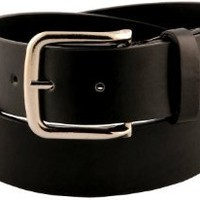 Womens Classic Smooth Faux Leather Belt
