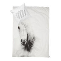 BY NORD Horse Junior Bed Duvet and Pillow Cover Set