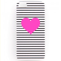 Ban.do Iphone 5 Case: Stripe/H Pink