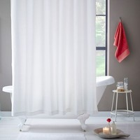 Brighton Matelasse Shower Curtain - Stone White