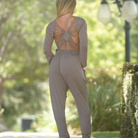 Captivating Jumpsuit - Mocha