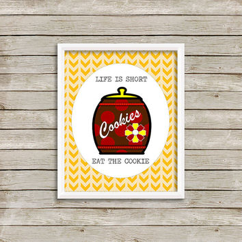 Cookies - Wall Art, Print 8 x 10 INSTANT Digital Download Printable