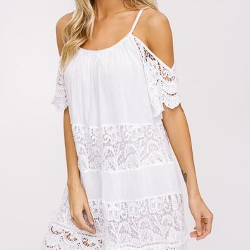 Spring Kiss Dress in Ivory