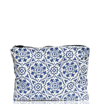 ALOHA Collection - Medium Mediterranean Tile Pouch