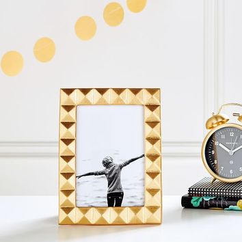 The Emily & Meritt Tabletop Frame, Gold Rectangle