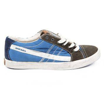 Blue 40 EUR - 7.5 US Diesel mens sneakers D-STRING LOW Y01107 P0455 H5522