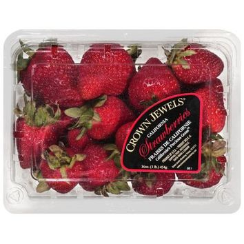Crown Jewels: Strawberries Produce, 1 lb - Walmart.com