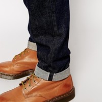 ASOS Slim Jeans In Japanese Selvage Rinse Wash
