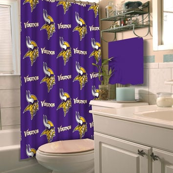 Minnesota Vikings NFL Shower Curtain