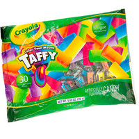 Crayola Color Your Mouth Taffy: 30-Piece Bag