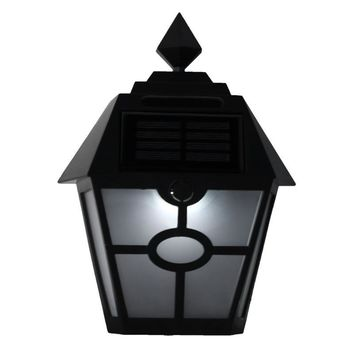 Waterproof Solar LED Light Motion Sensor Outdoor Activated Hexagonal Wall Lamp Garden Automatically ON at Night Path Lighting