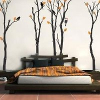 Wall Vinyl DecalsFOUR SEASON FORESTStickers Murals Home by WowWall