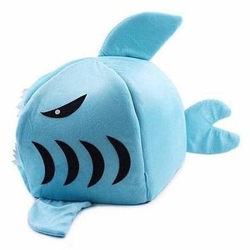 Shark Mouth Shape Bed for Puppy & Cat