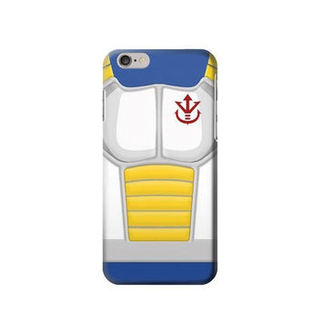 P2812 Dragonball Z Vegeta Saiyan Armor Phone Case For IPHONE 6S