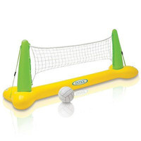"""Intex Pool Volleyball Game, 94"""" X 25"""" X 36"""" Weighted Party Outdoor Kids Toy Fun"""