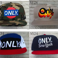 new arrival only ny new york snapback hats custom fashion hat snapbacks snap back cap mixed 137