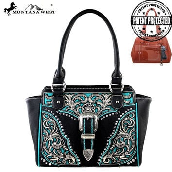 Montana West MW217G-8250 Concealed Carry Handbag