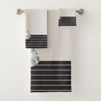 Contemporary Elegance Bath Towel Set