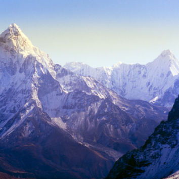 Himalaya Mountains Premium Poster by Microstock Man at Art.com
