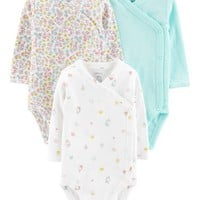 3-Pack Side-Snap Bodysuits