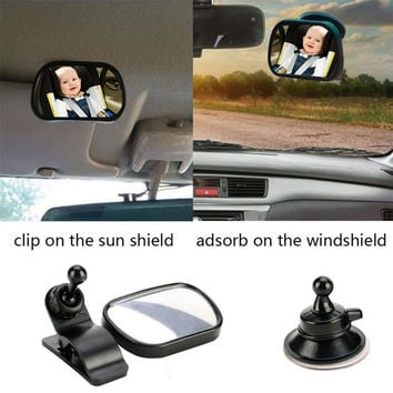 Newest Universal And Useful car-stying Car Rear Seat View Mirror Baby Child Safety With Clip and Sucker Hot Selling