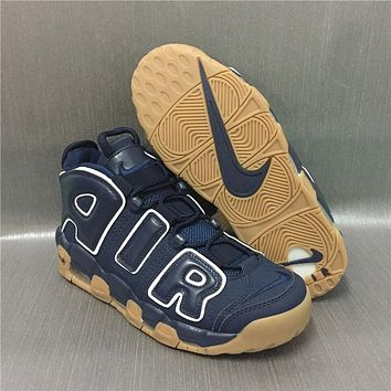 AIR MORE UPTEMPO AIR Navy/Raw Size 40---46
