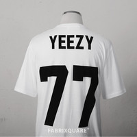 L.Artists YEEZY 77 Football T-shirt