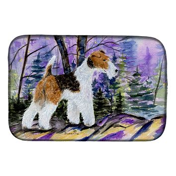 Fox Terrier Dish Drying Mat SS8630DDM