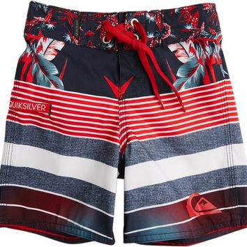 QUIKSILVER TODDLER YG STRIPE REMIX BOARDSHORT