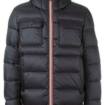 DCCK7J3 Moncler Men's Morane Black Down Puffer 5