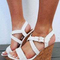 End Of The Rainbow Wedges: White