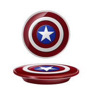 Avengers Original QI Wireless Charger For Samsung Galaxy S6/S6 Edge G9200 G920F G9250 G925F Captain America Shield Charging Pad