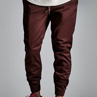 Bullhead Denim Co. Drawstring Skinny Jogger Pants - Mens Pants - Brown