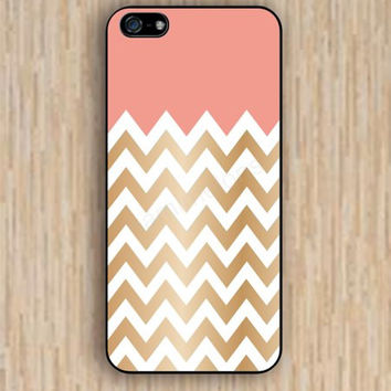 iPhone 4s case golden chevron pink chevron iphone case,ipod case,samsung galaxy case available plastic rubber case waterproof B022