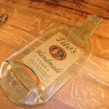 Tito's Vodka - Melted Liquor Bottle