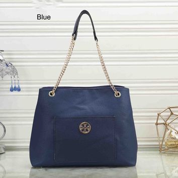 Tory Burch 2018 New Trend Women's Shoulder Messenger Bag blue