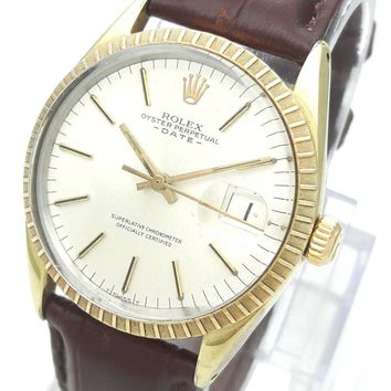 Vintage 1975 Rolex Oyster Perpetual Date 1550 Automatic Cal. 1570 Men's Watch