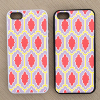 Cute Geometric Pattern iPhone Case, iPhone 5 Case, iPhone 4S Case, iPhone 4 Case - SKU: 231