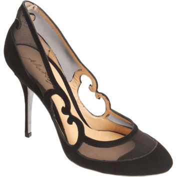 Alberto Moretti Arabesque Glitter Sole Pump at Barneys New York at Barneys.com