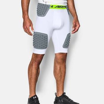 Under Armour Men's UA Football Gameday Team Girdle Padded Shorts - 5 Pad Short