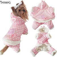Pink Dog Winter Coat