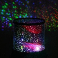 Romantic Pink Amazing Master Star Sky Universal Night Light Baby Kid Chidren Dreamlike Projector Gift