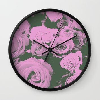 Mother May I Wall Clock by Ducky B
